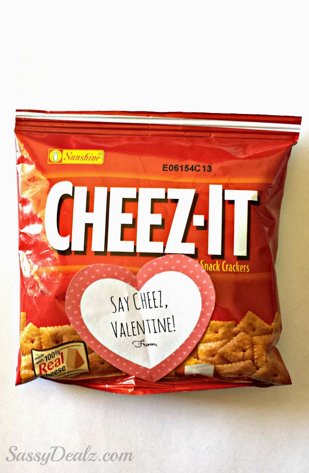 cheez-it valentines kids bag idea