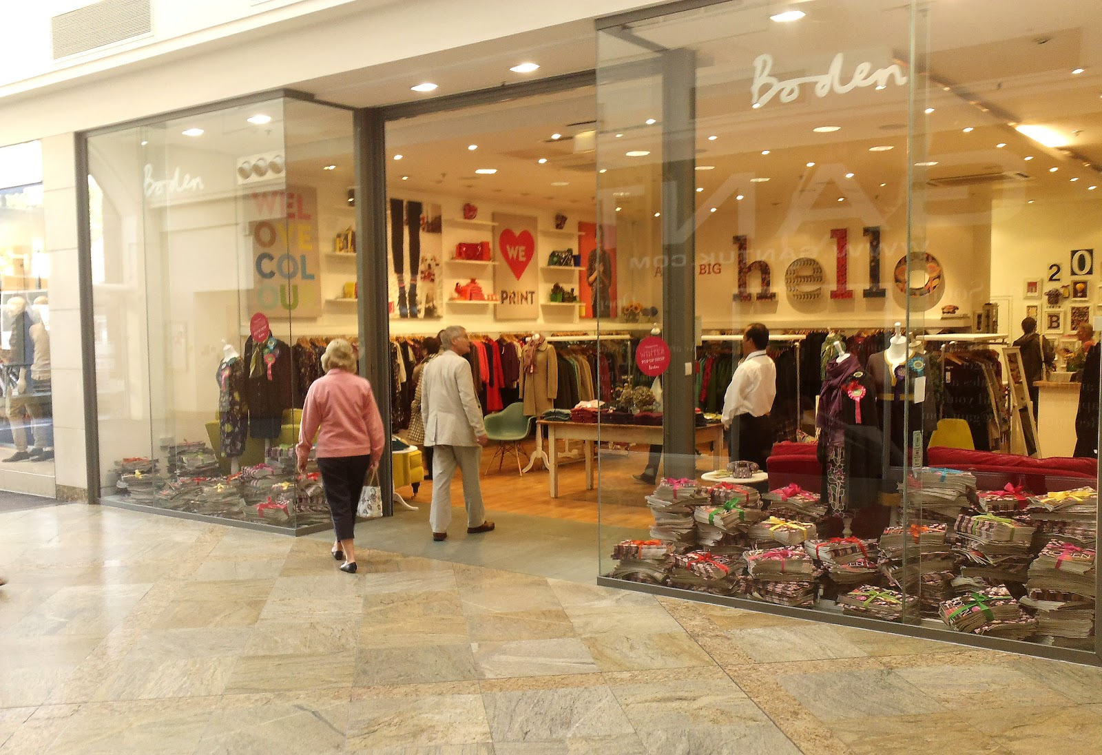 Rpm pop up boden pop up shop oracle shopping centre for London boden