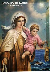 Mi querida Virgen del Carmen