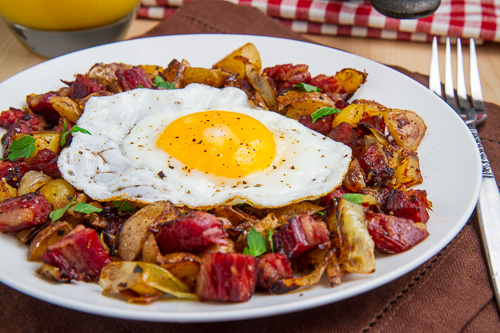 Corned Beef Hash on Closet Cooking