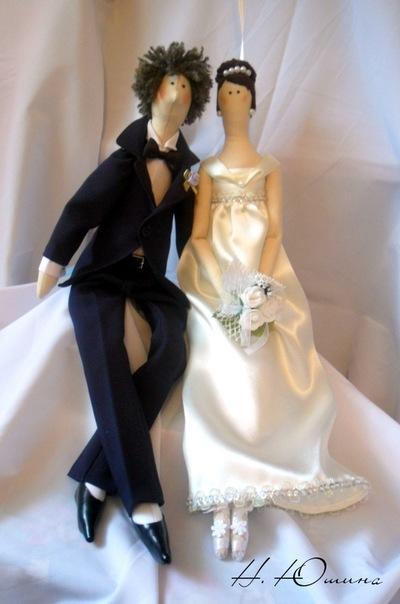Куклы своими руками свадьба