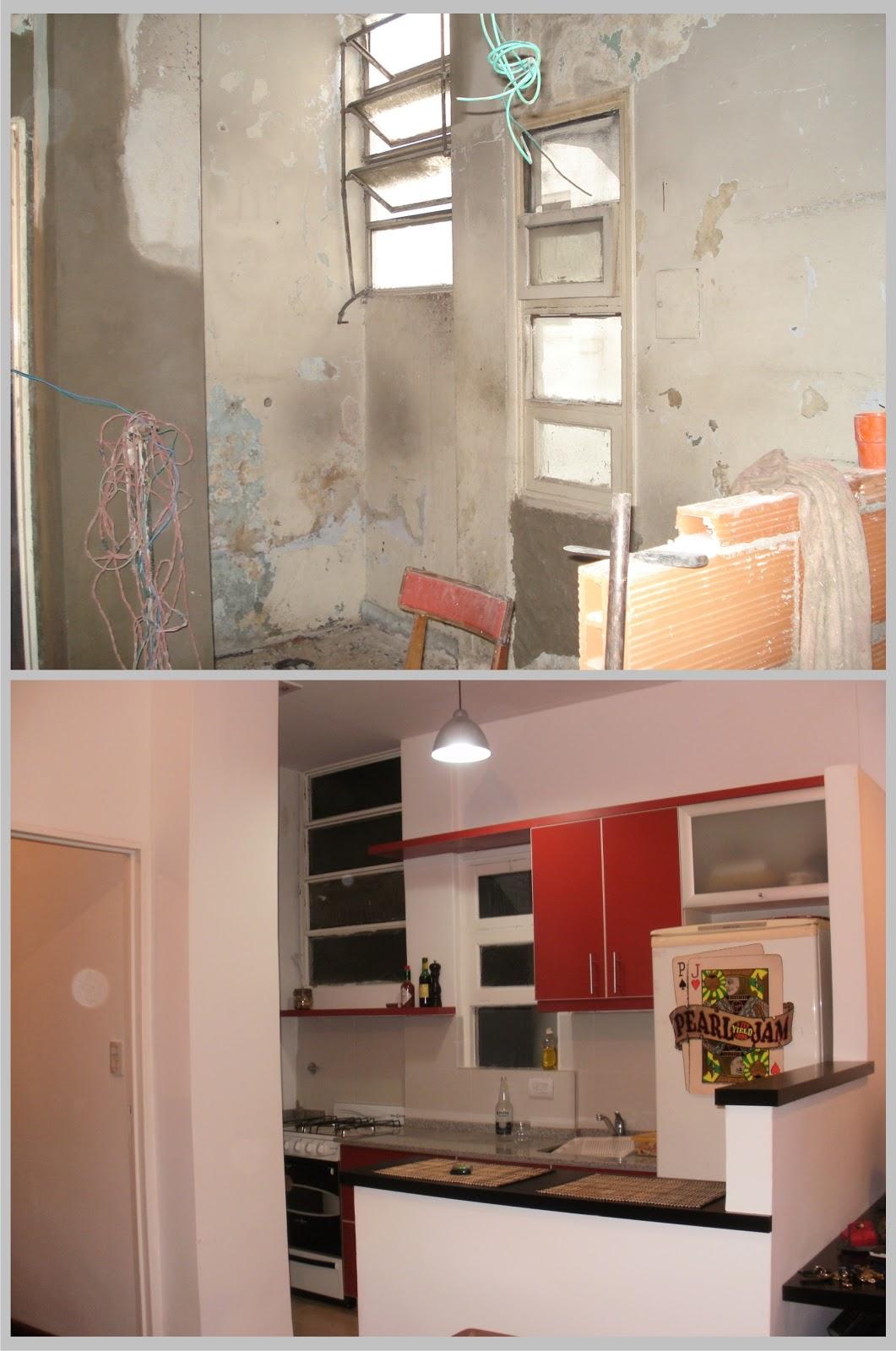 Arquitectura a tu medida remodelacuin de un peque o departamento - Casas reformadas antes y despues ...