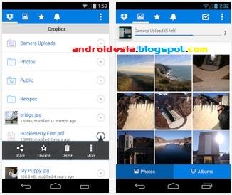 Dropbox untuk Android - Aplikasi Peyimpanan Online Populer