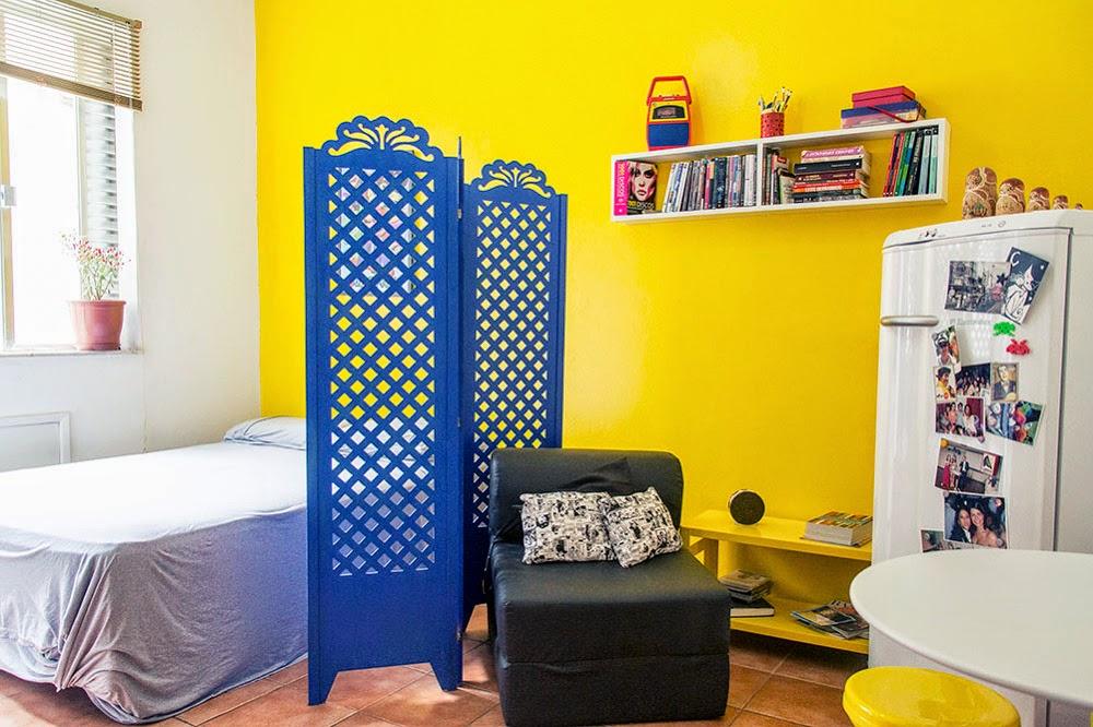 decoracao kitnet barata:DIY Decoração: Soluções para casas pequenas e quitinetes