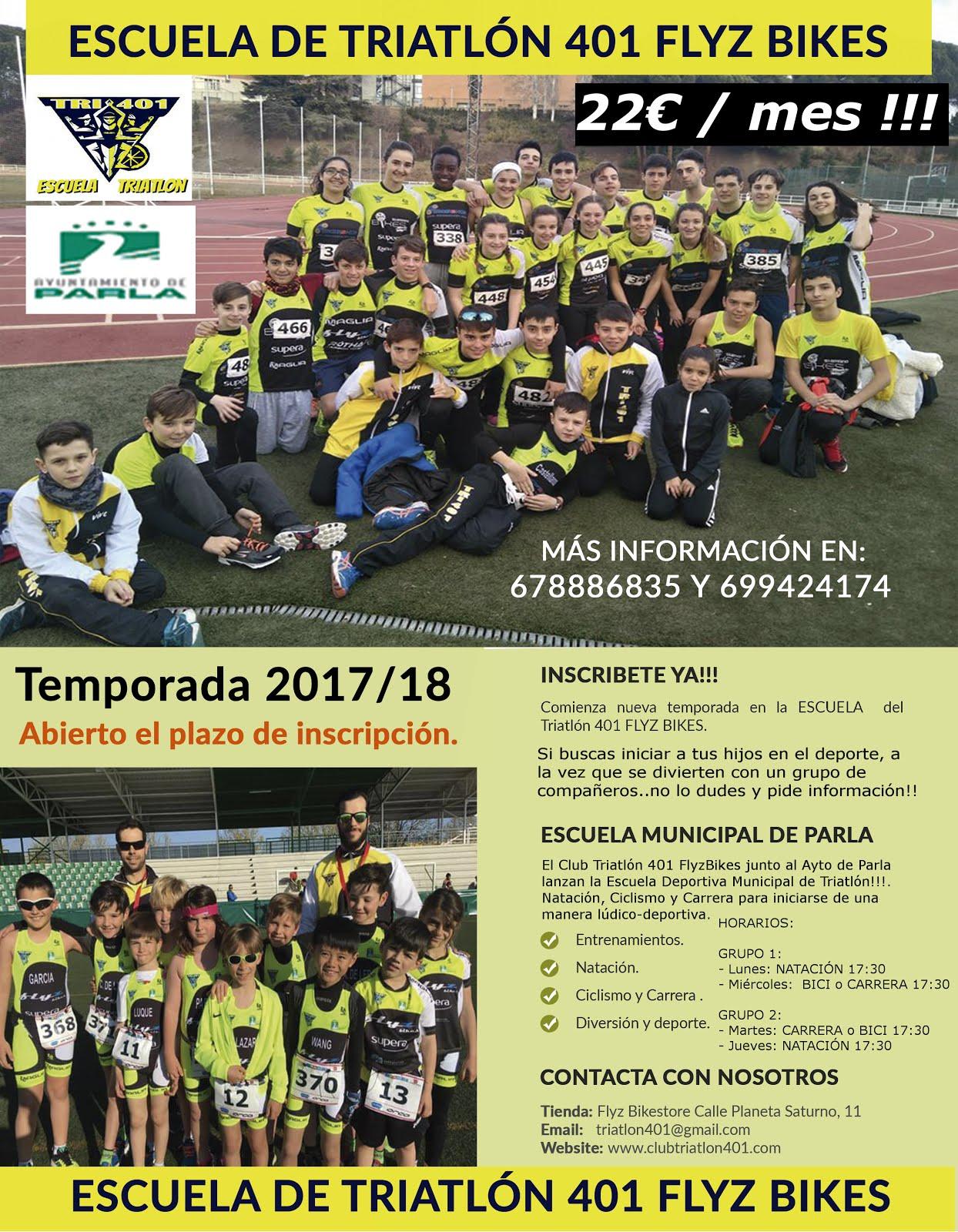Escuela Deportiva Municipal de Triatlón