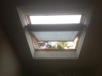 Katzennetz und Dachfenster, Katzennetz und Velux-Fenster