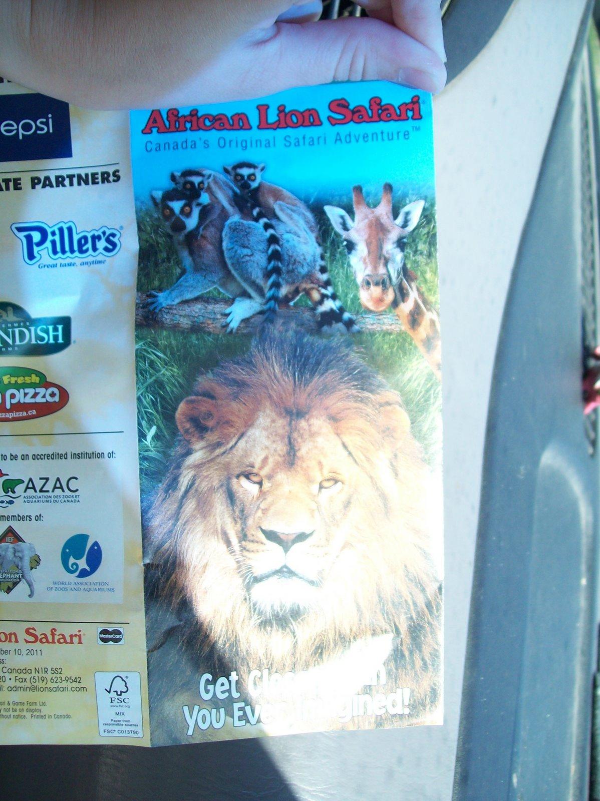 African lion safari coupons 2019