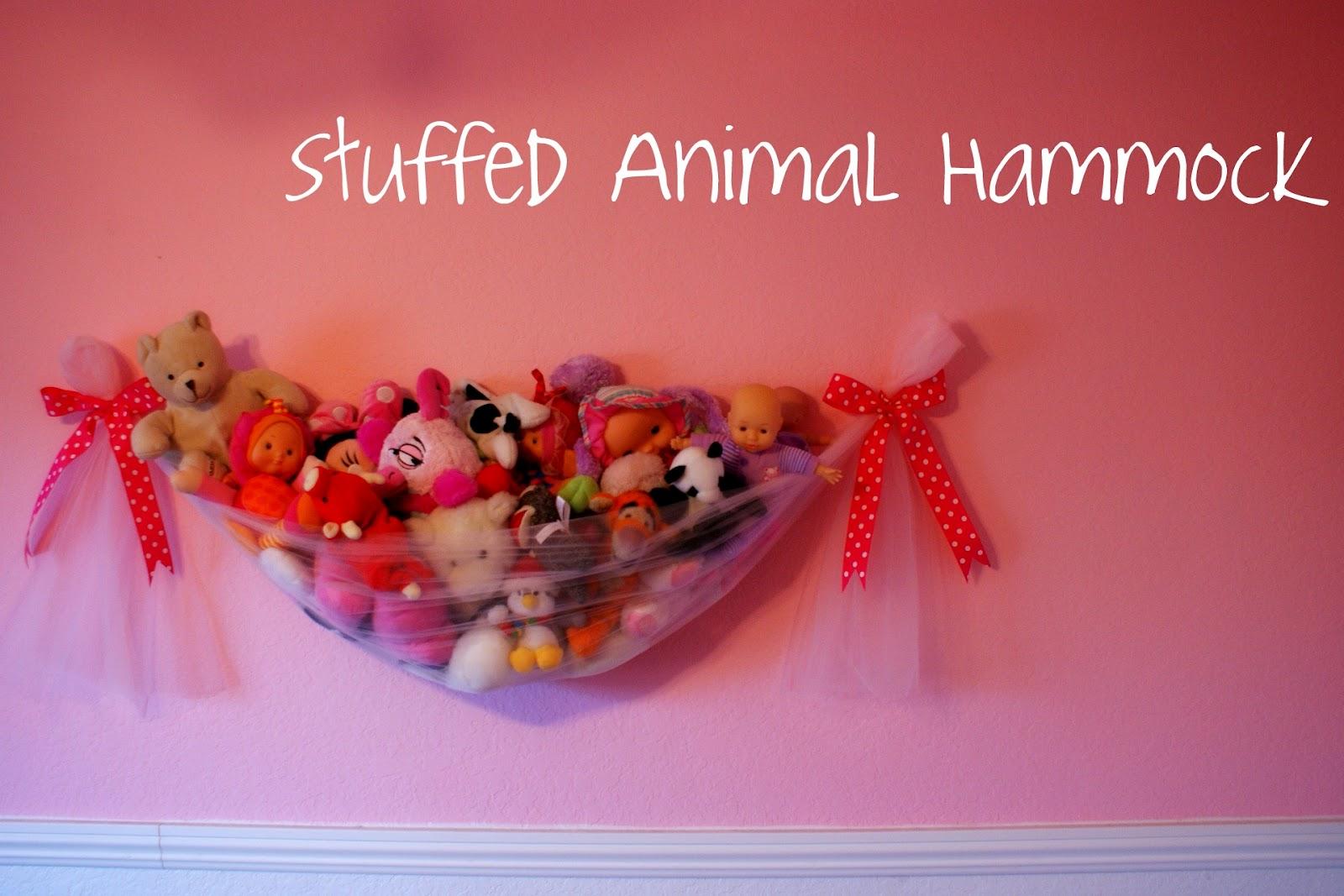 I Heart My Glue Gun: Stuffed Animal Hammock