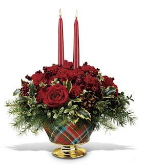 Christmas Flower Basket Images