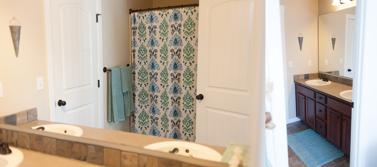 attached client bathroom