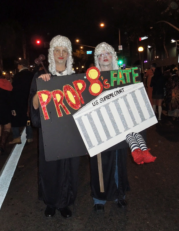 Prop 8 Fate costume West Hollywood Halloween Carnaval