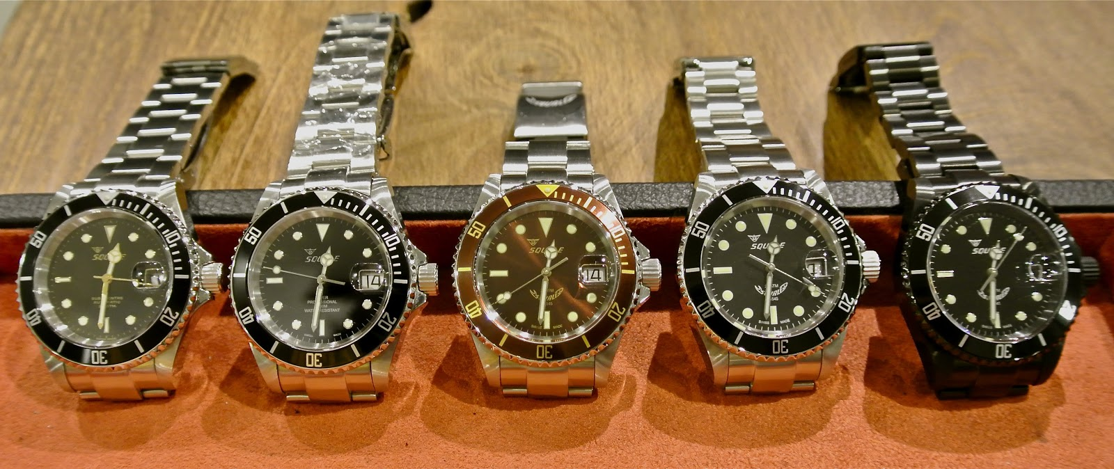 black watches atmos a squale gnomon youtube watch