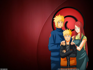 Yondaime hokage and uzumaki kushina hentai naruto wallpaper