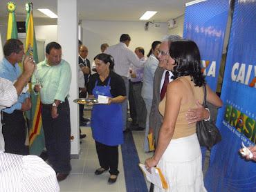 Inauguração da Caixa Econômica Federal em Guaranésia - MG