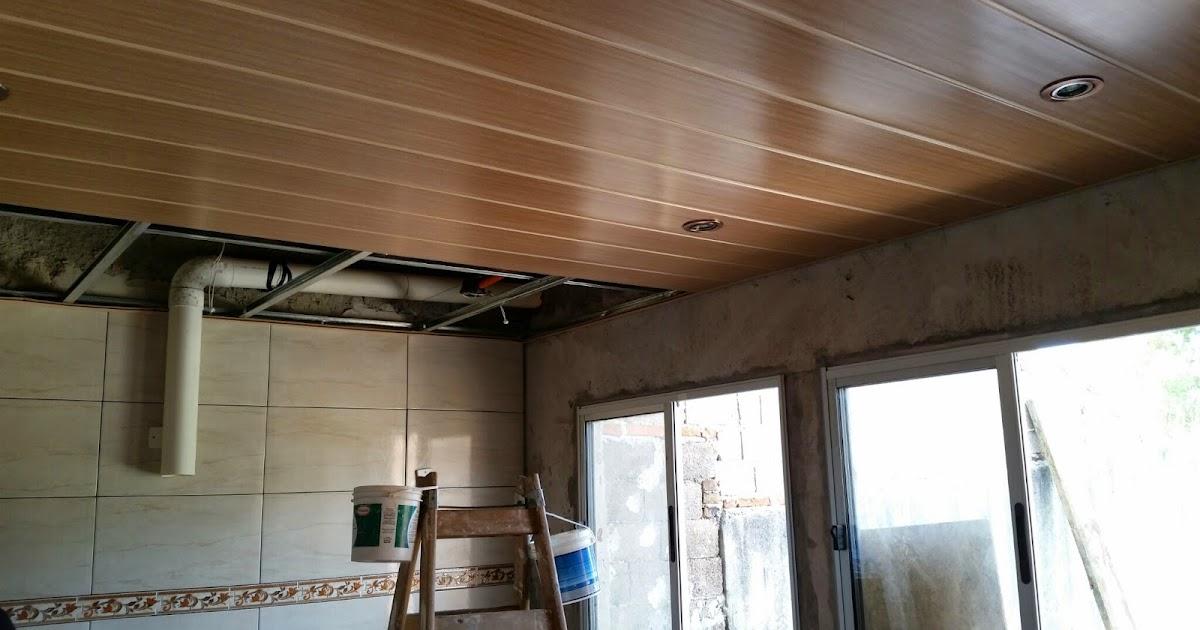 Cielorrasos en pvc uruguay cielo raso en pvc color for Colores para techos de madera