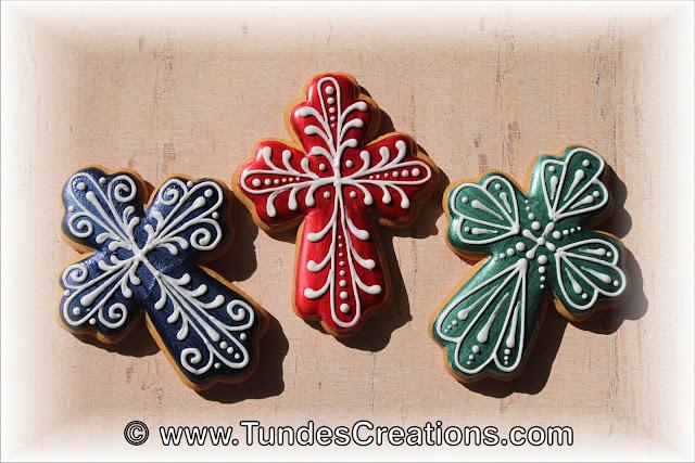 Cross cookies by Tunde Dugantsi