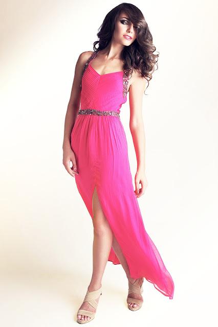 Pink Zardoze dress