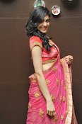 Adah Sharma Gorgeous in Pink Saree-thumbnail-8
