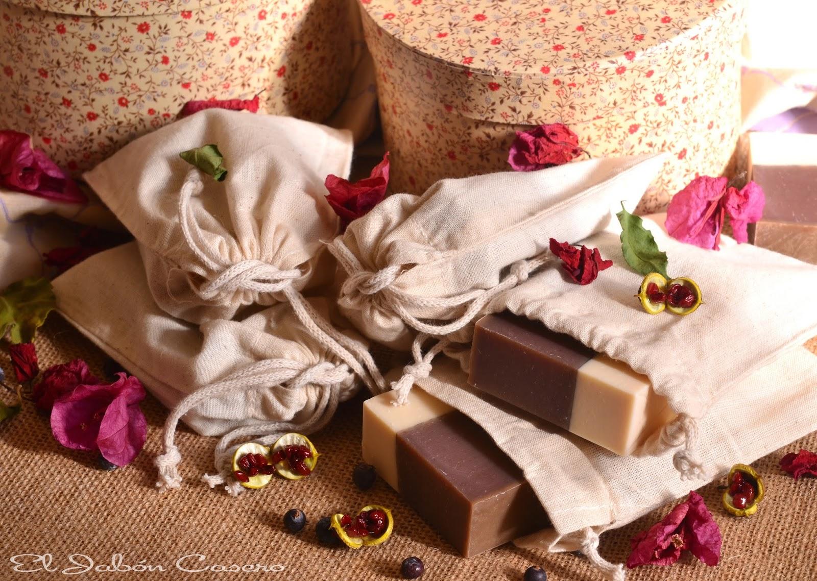 detalles bodas bolsitas con jabones naturales