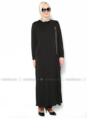 Model Baju Muslim untuk Orang Gemuk