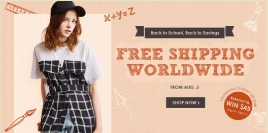 Back to school - Zaful