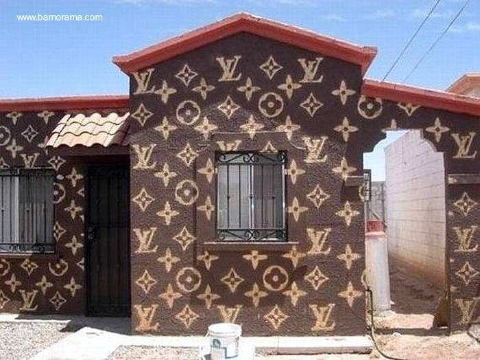 Arquitectura de casas fachada de casa pintada for Casas decoradas x fuera
