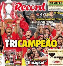 Benfica Tricampeão 2015 - 2016