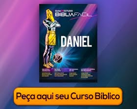 Receba em seu lar um curso bíblico grátis! sobre o livro profético de Daniel