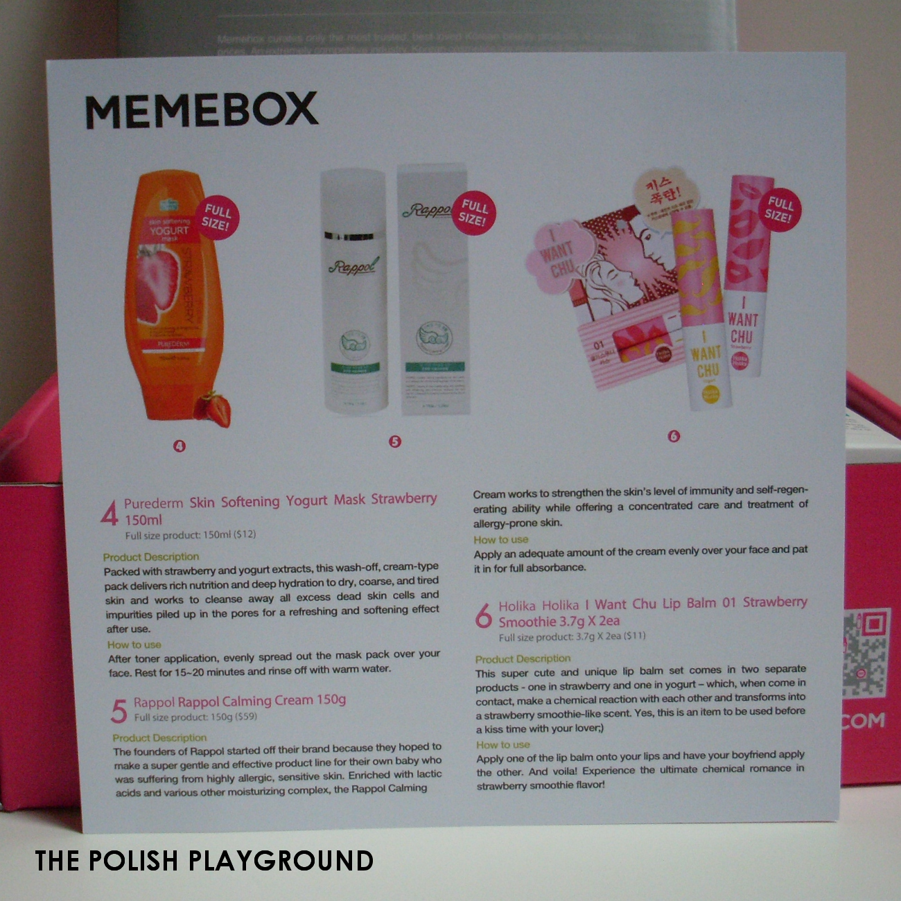 Memebox Superbox #54 Yogurt Cosmetics Unboxing