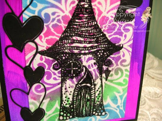 Lavinia neon card for valentine's detail