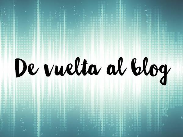 De vuelta al blog