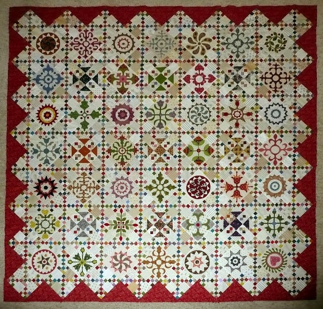 Afternoon Delight Quilt Block of the Month
