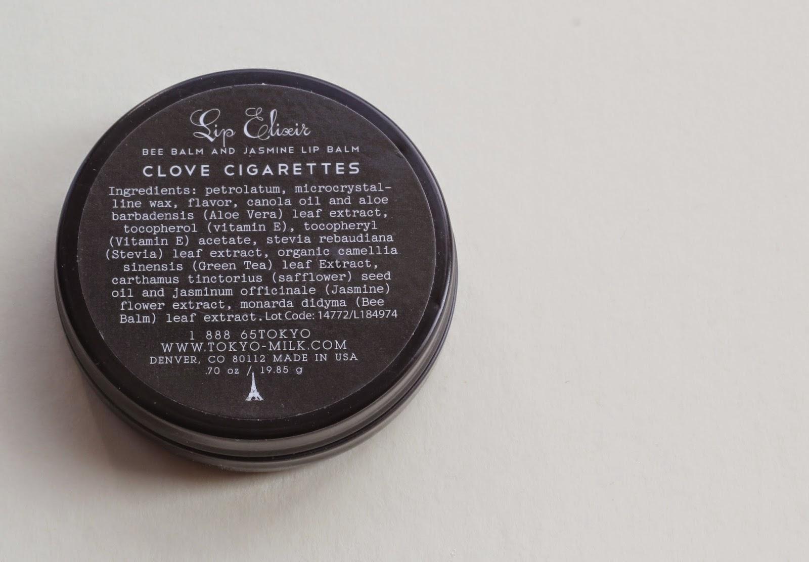 TokyoMilk Dark Lip Elixir Clove Cigarette