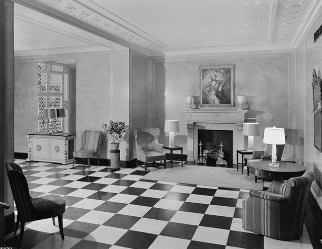 Apartment Lobbies From The Early Vintage Everyday