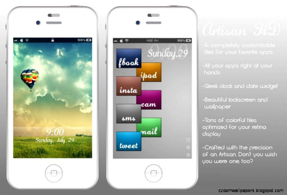 iPhone 4s Artisan HD for Dreamboard by CrossoverDoc on DeviantArt