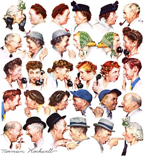 Norman Rockwell, 'The Gossip' (1948)