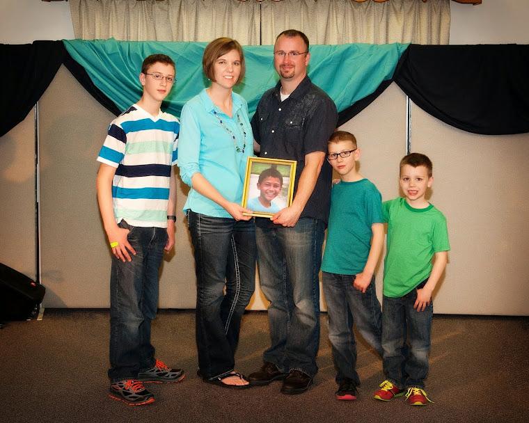 March 21, 2014:  Josiah 13, Nathanael 8, Luke 6 . . .Isaac 11