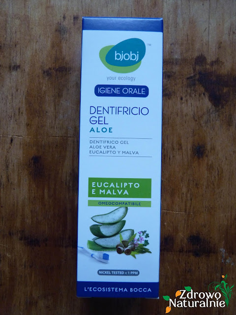 Biobeauty - Biobj - Żelowa pasta do zębów z aloesem oraz ekstraktem z malwy