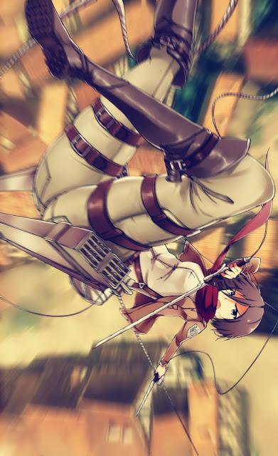 mikasa anime shing...