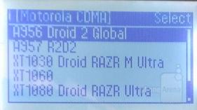 Motorola Smartphones Listing