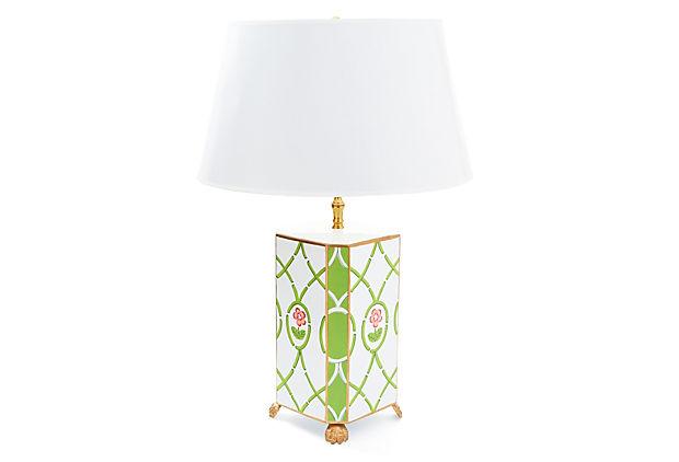 Dorothy Draper Lamp By Dana Gibson