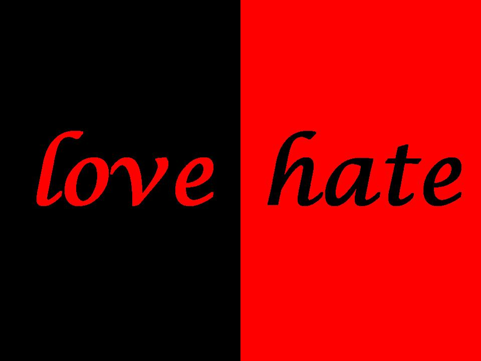 love hate what about