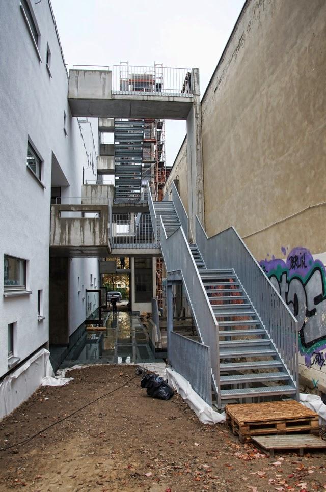 Baustelle Christburgerstraße 13, 10405 Berlin, 10.10.2013