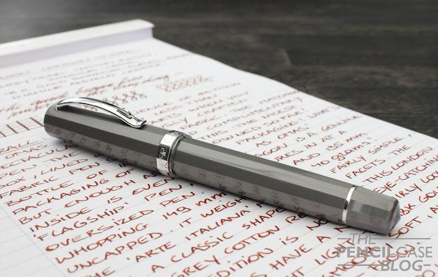 Omas Arte Italiana Paragon London Smoke Fountain pen