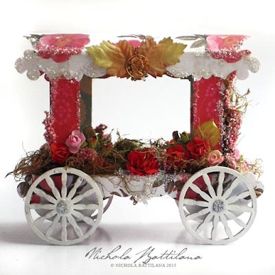 Paper Gypsy Wagon - Nichola Battilana