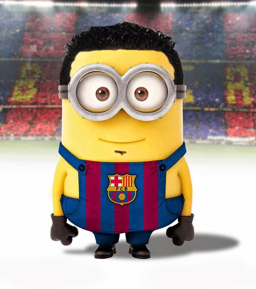 Imgenes Minions del Ftbol Club Barcelona  MinionLander