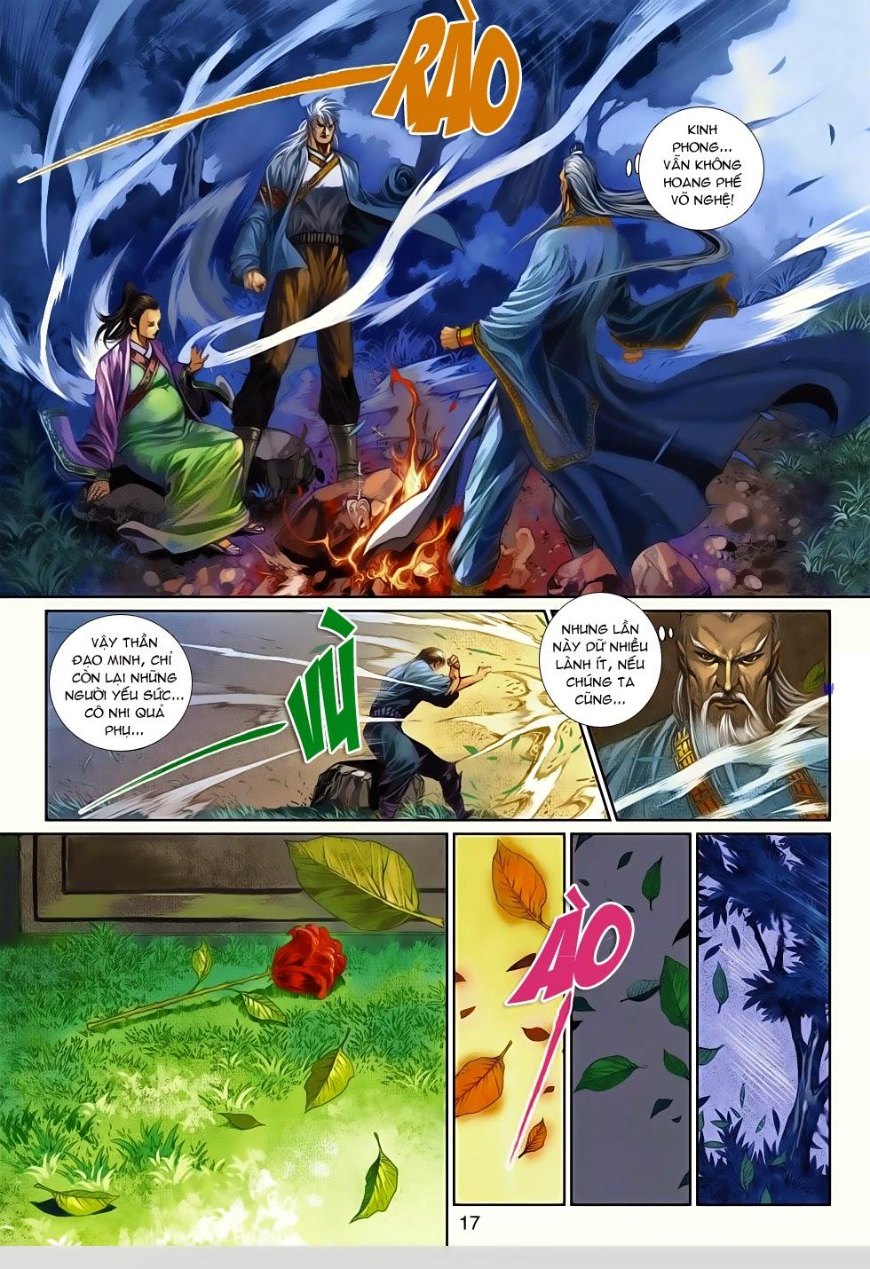 Thần Binh Tiền Truyện 4 - Huyền Thiên Tà Đế chap 14 - Trang 17
