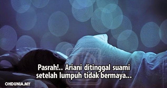 Pasrah!.. Ariani Ditinggal Suami Setelah Lumpuh Tidak Bermaya..