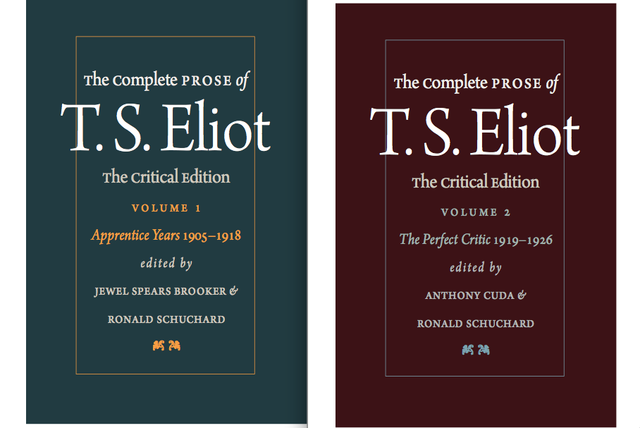 critical essays on ts eliot In his time ts eliot established a new critical orthodoxy by which no major modern critic in england or america remained unaffected, but a decade has passed.