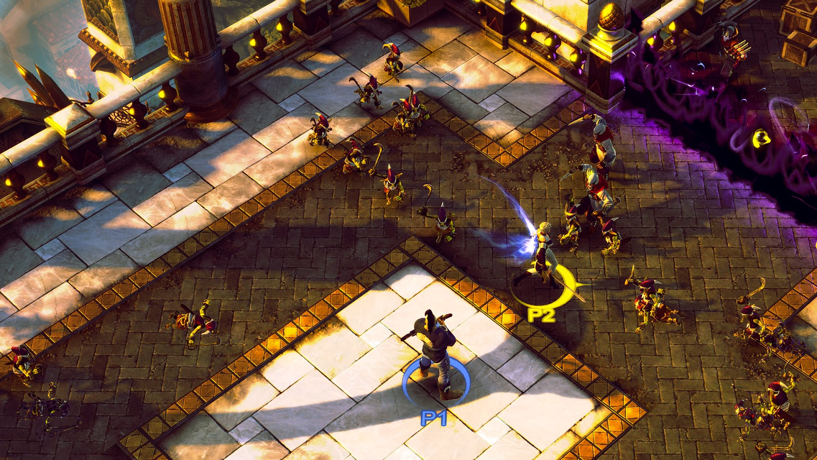 RPG action game Sacred 3